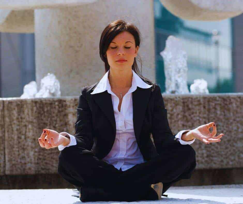 Zen Businesswoman